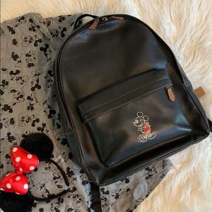 Disney x Coach Mickey Mouse Backpack